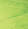 Пряжа Alize Bamboo Fine 612 (Желтый неон)