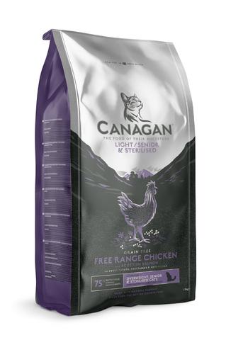 Сухой корм Canagan Grain Free Light/Senior/Sterilised для кошек