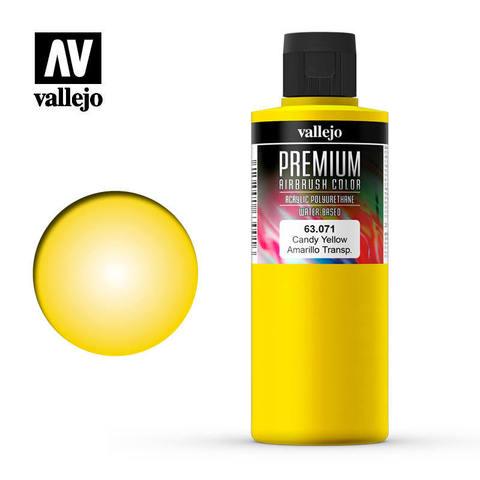 Vallejo Premium Color Candy Yellow