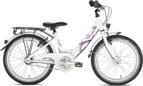Двухколесный велосипед Puky Skyride 20-3 Alu 4446 white белый, 6+