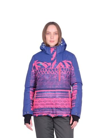 Горнолыжная женская куртка BATEBEILE розового цвета.