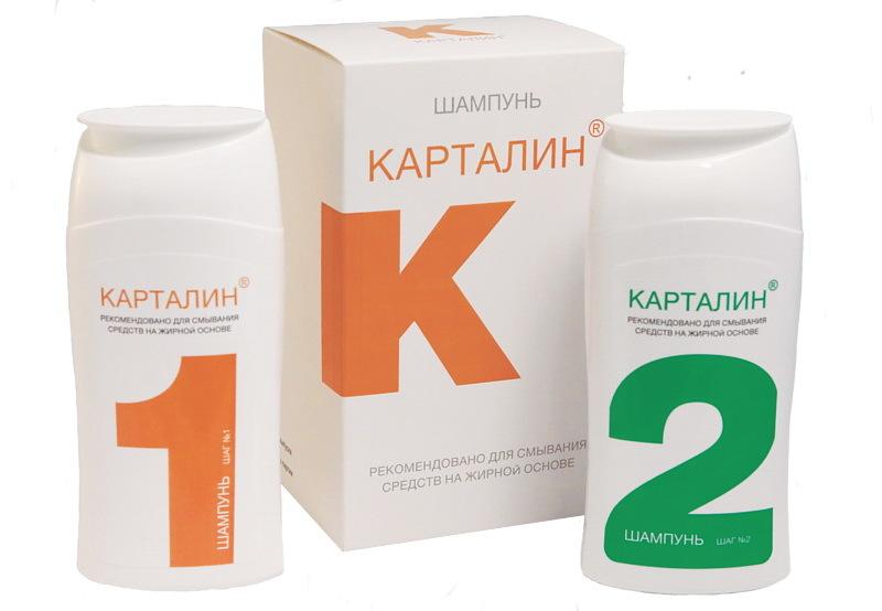 Карталин шампунь Шаг №1 150 мл. / Шаг №2 150 мл.
