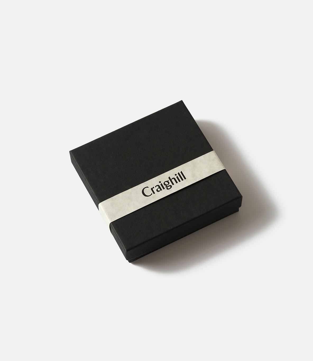 Craighill Radial Cuff Carbon Black — браслет из стали: чёрный карбон