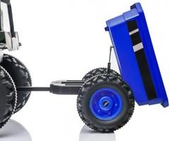 Трактор с ковшом, прицепом и пультом управления HL389-LUX
