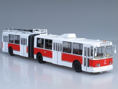 ZiU-10 ZiU-683 trolleybus red-white 1:43 Start Scale Models (SSM)