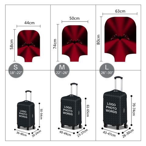 Чехол для чемодана - Бэтмен