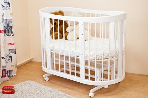 """С 422 Кровать детская """"Паулина-2"""" (белый)"""