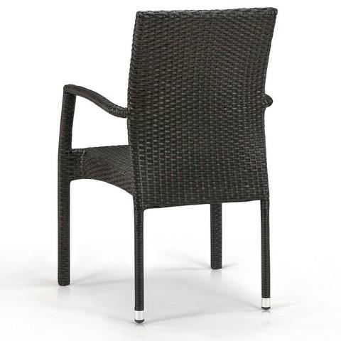Плетеный стул Y379A-W53 Brown