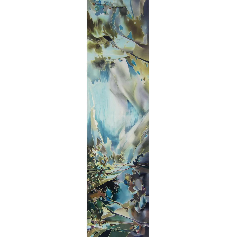 Шелковый шарф батик Крым