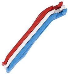 Инструмент для замены камеры и покрышки BBB tire levers EasyLift 3 red white blue - 2
