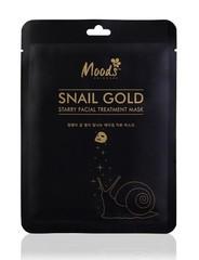 Маска для лица улитка и биозолото Snail Gold Starry Facial Treatment Mask Belov