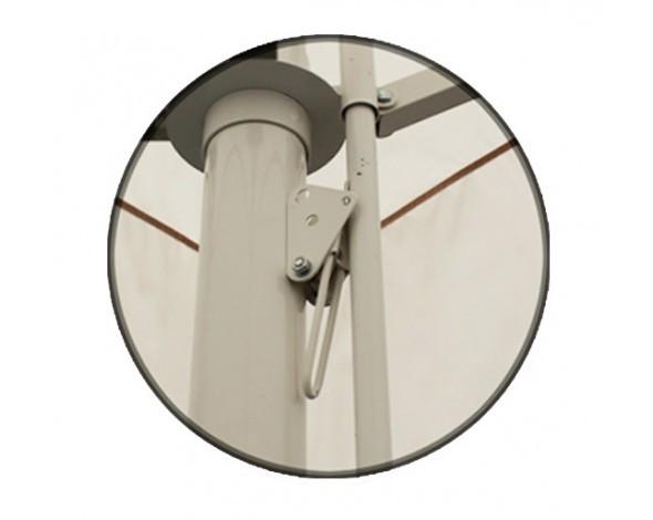 Зонт квадратный Митек телескопический 4х4 4 спицы