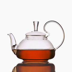 Стеклянный заварочный чайник 550 мл