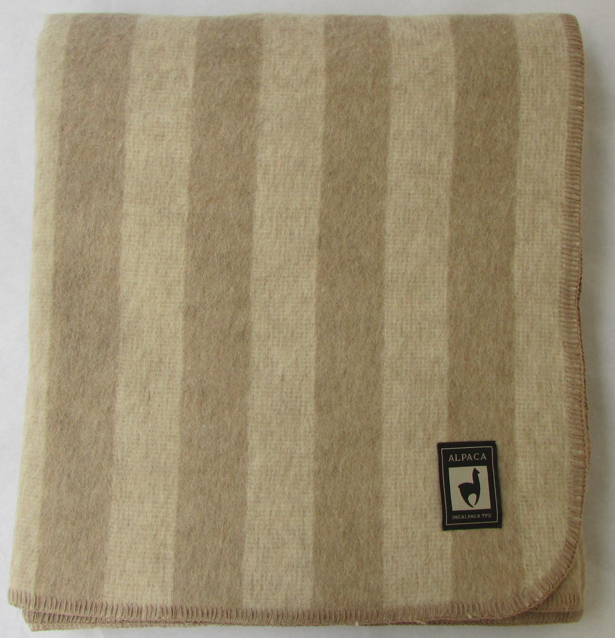 Шерстяные одеяла Одеяло INCALPACA Перу  из шерсти альпаки OA-1 OA-1.JPG