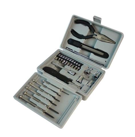 Набор инструментов Stinger, 26 предметов, в пластиковом кейсе, серый