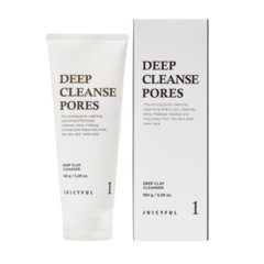 (1+1) Очищающая пенка Juicyful Deep Cleanse Pores 150g