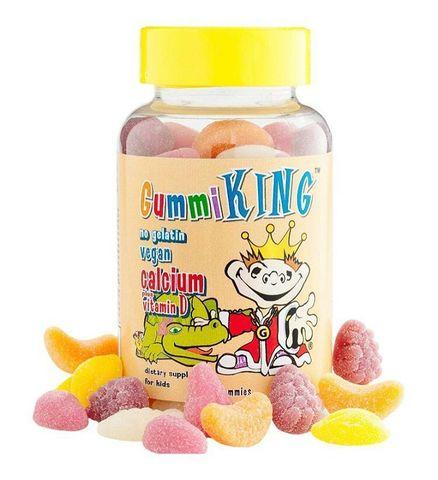 Жевательные конфеты с кальцием и витамином D от Gummi King