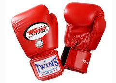 Перчатки боксерские Twins BGVL-3 для муай-тай (красные) Арт.BGVL-3