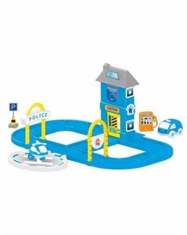 Игровой набор Dolu полицейская станция с круговой дорогой DL_5151