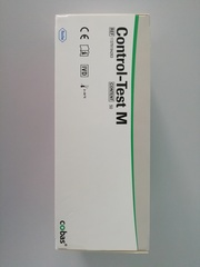11379194263 Тест-полоски Контрол 10 Тест М (Control Test M 50), 50 полосок. Рош Диагностикс ГмбХ, Германия (Roche Diagnostics GmbH, Germany)