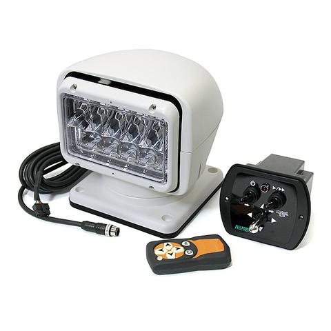 Прожектор светодиодный стационарный, с проводным и беспроводным пультом ДУ, белый (серия 220S)