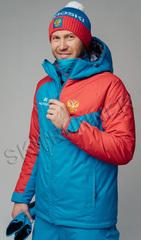 Утеплённая прогулочная лыжная куртка Nordski National 2.0 мужская