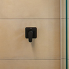 Встраиваемый смеситель для душа ALEXIA 361801SNM черный, на 1 выход - фото №2