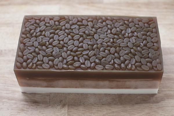 Мыло Кофе. Текстурный лист + форма