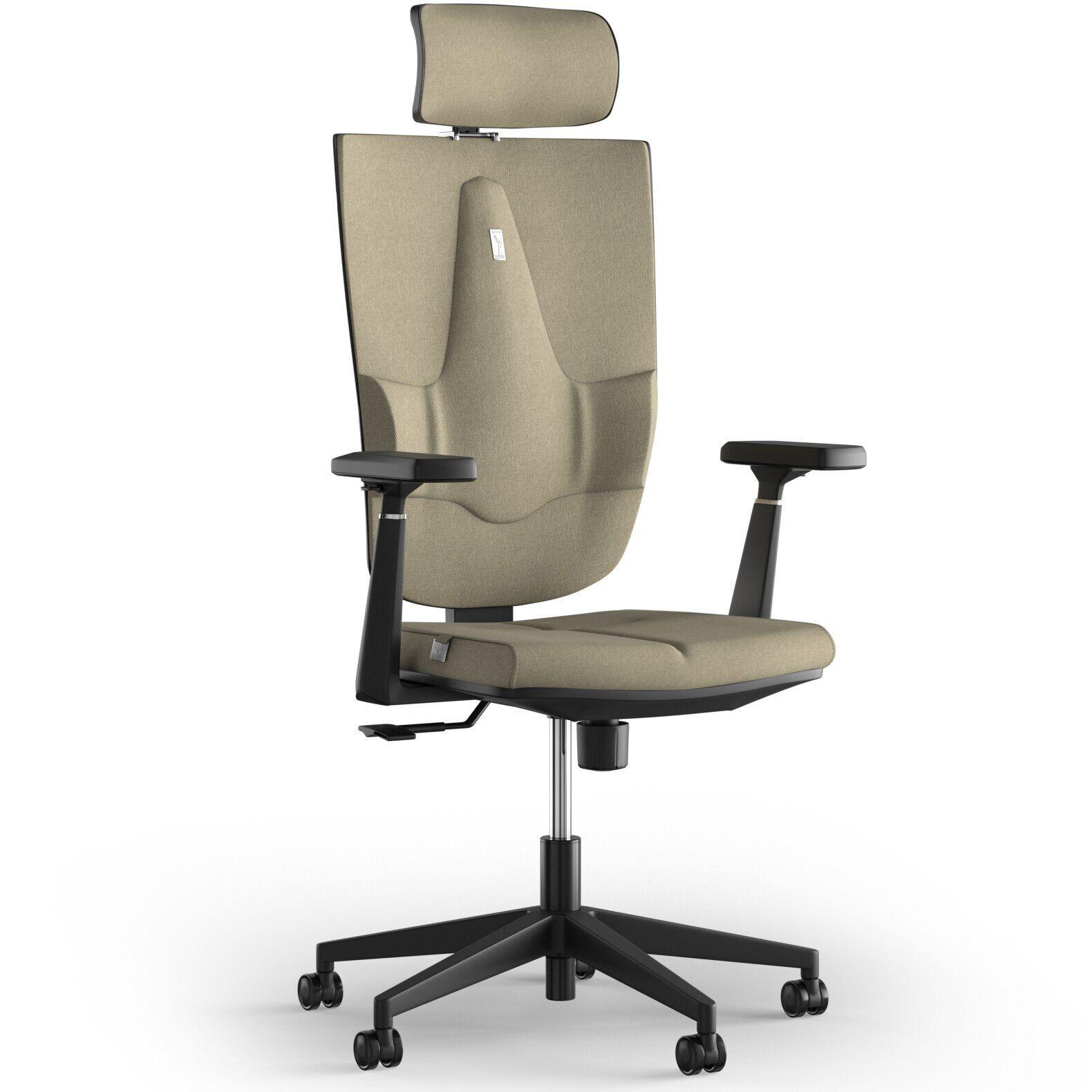 Кресло KULIK SYSTEM SPACE Ткань с подголовником без строчки