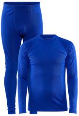 Теплый Комплект термобелья Craft Core Warm Baselayer Set Blue мужской
