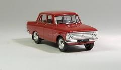 Moskvich-408 dark red 1:43 DeAgostini Auto Legends USSR #12