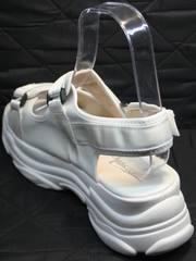 Летняя спортивная обувь женская Small Swan PM23-3 White.