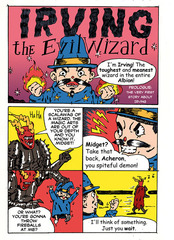 Irving. The Evil Wizard