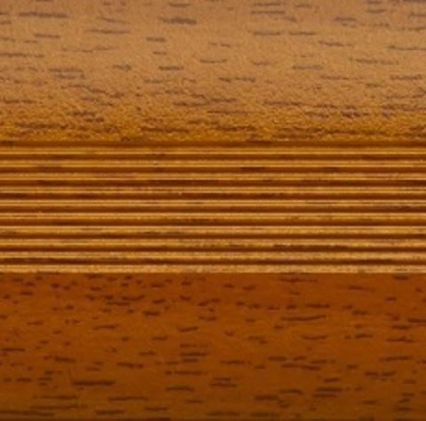 Профиль Русский Профиль Стык с дюбелем разноуровневый 30мм Вишня 1800мм