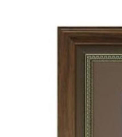 Фоторамка Ампир (с паспарту) 30х30 Формат-А (бронза) (4 паспарту 10x15)
