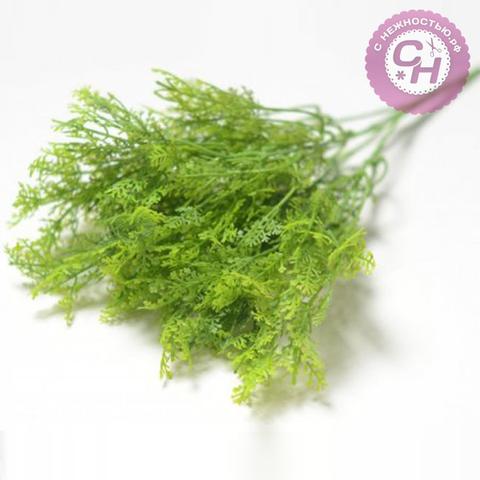 Искусственная зелень мелкая, 34 см.