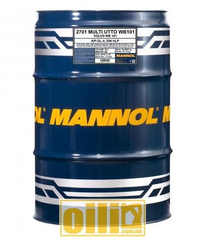 Mannol 2701 Multi UTTO WB 101 API GL-4 60л
