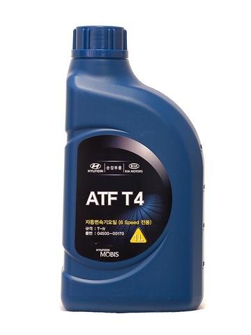 HYUNDAI ATF JWS3309 Жидкость трансмиссионная (пластик/Корея)
