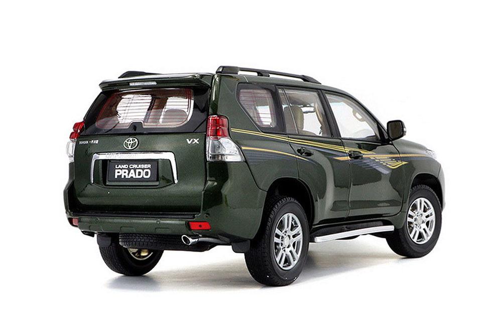 Коллекционная модель TOYOTA LAND CRUISER PRADO 2014 GREEN