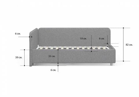 внешние габариты кровати