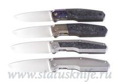 Сет 4 ножа CKF/Philippe Jourget FIF20 2021 (M390, Ti , CF, ZircuTi, Больстер)