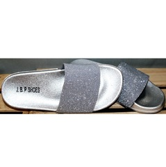 Летние шлепанцы J.B.P. Shoes Nu1213 Silver.