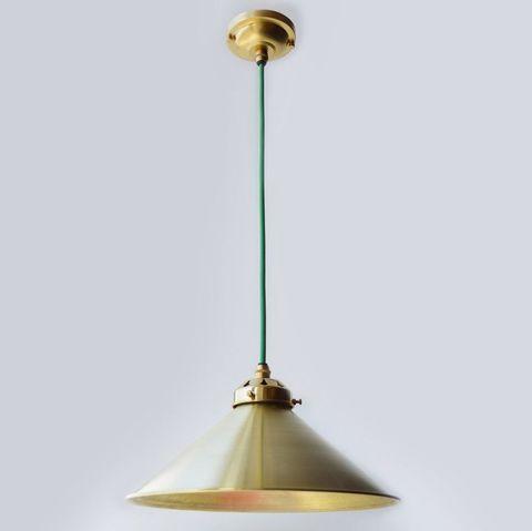 Подвесной светильник латунный Ottone Англия