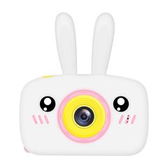 Фотоаппарат детский SmileZoom Зайчик 20 Мп / Белый