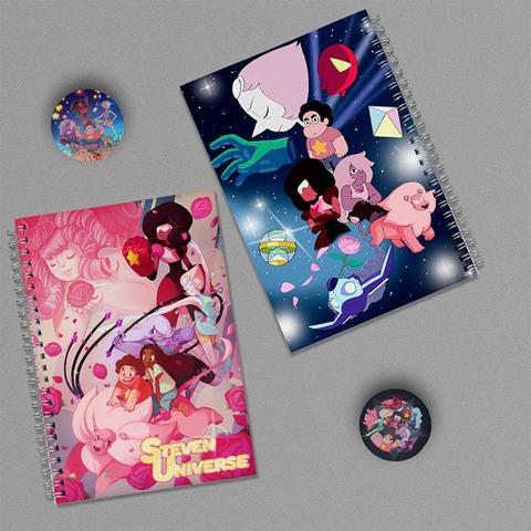 Steven Universe: набор из 2 тетрадей и 2 значков