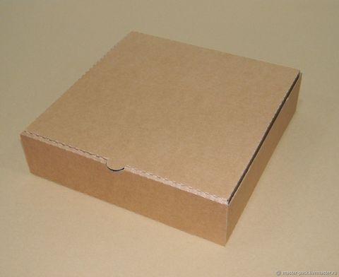 Коробка под торт, 28*28*7см,(гофрокартон)