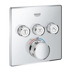 Термостат для душа встраиваемый на 3 потребителя Grohe  29126000 фото
