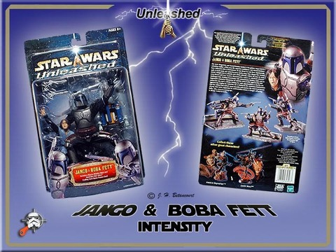 STAR WARS UNLEASHED JANGO & BOBA FETT