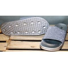 Пляжные шлепанцы женские J.B.P. Shoes Nu1213 Silver.