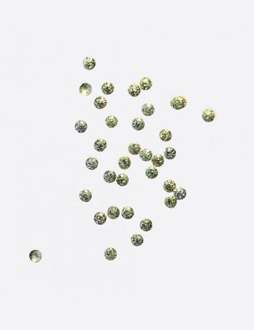 ARTEX Полусферы круглые шлифованные золото 1,5 мм